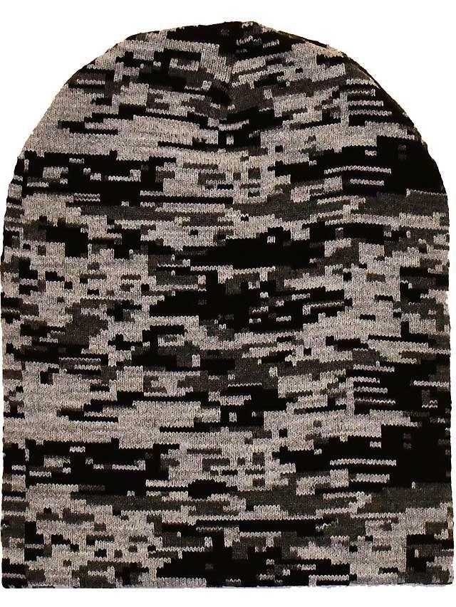 Gorro Camuflado Pixel